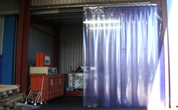 Pvc Strip Curtain Repairs Marsden